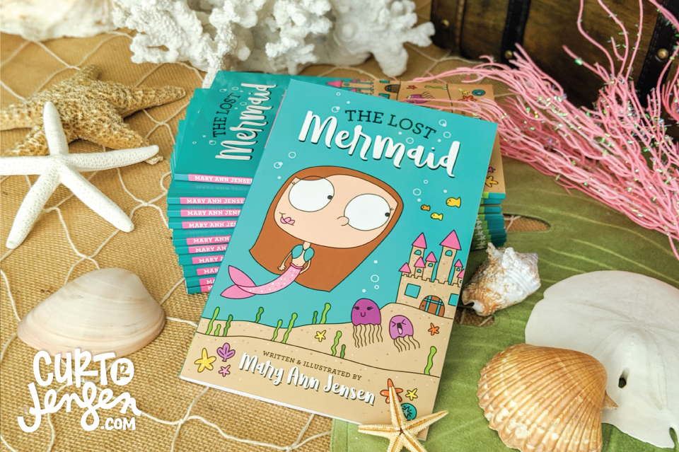The Lost Mermaid Cover Design