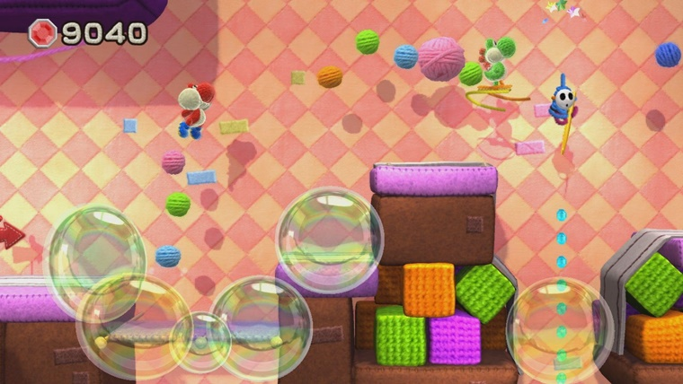 yoshis woolly world 7 - Nintendo Wii U Yoshi's Woolly World