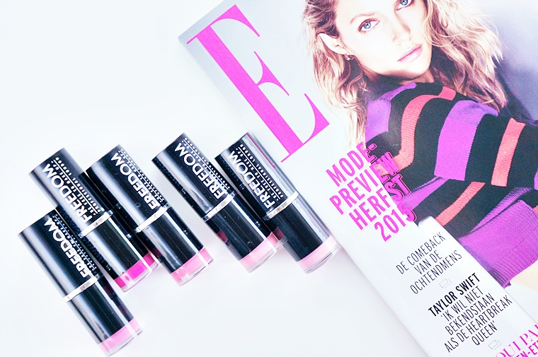 freedom makeup london full pro pink collection lipstick review 1 - Freedom Makeup London | Pink lipstick collection