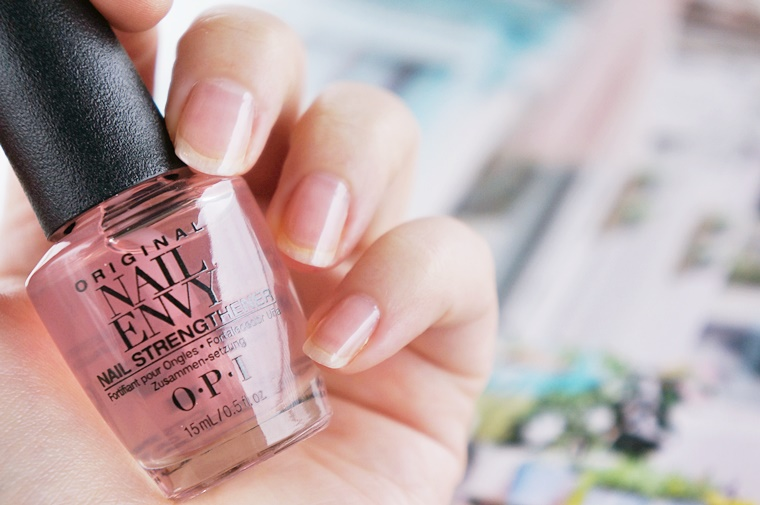 opi nail envy strength color review 5 - OPI Nail Envy strength + color
