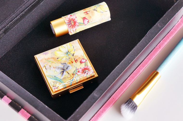 mac guo pei ethereal orchid red water lily 1 - MAC Guo Pei collectie & review