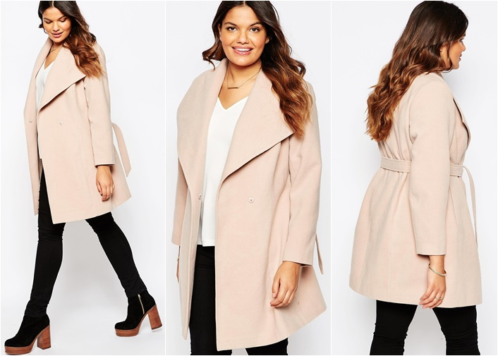 plussize waterfall coat 1 - Plussize Fashion | The waterfall coat