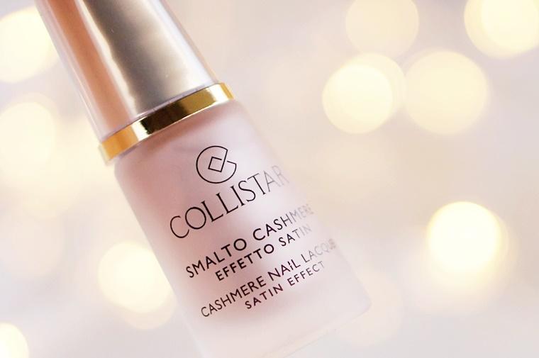collistar satin effect nail lacquer