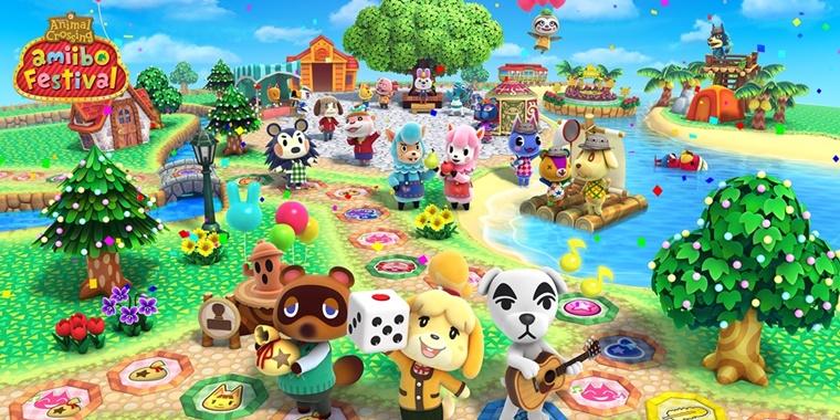 nintendo wii u animal crossing amiibo festival 2 - Animal Crossing amiibo Festival