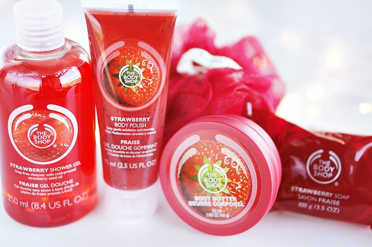 the body shop strawberry 3 - The Body Shop Strawberry Christmas gift