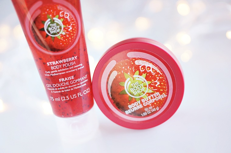 the body shop strawberry