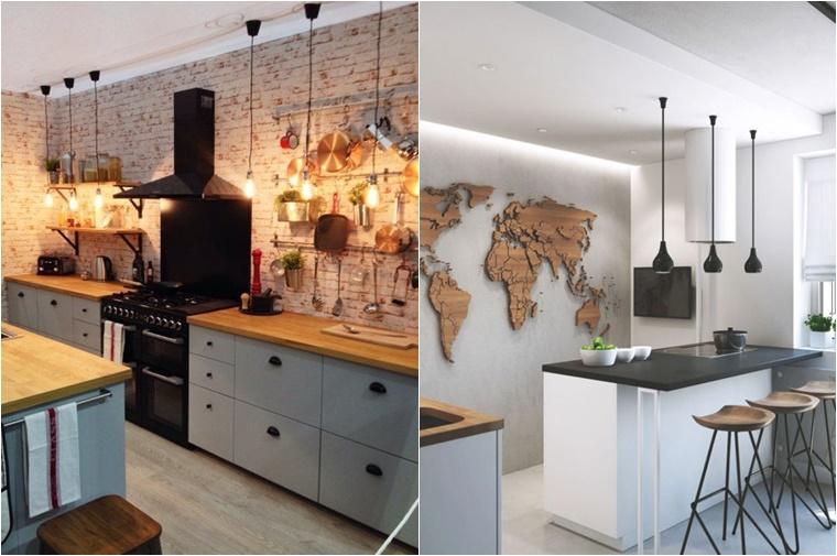 Interieur Klein Huis : Een woonkeuken met een klein budget interieur inspiratie