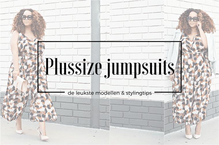 plussize jumpsuits 4 - Plussize Fashion | De leukste plussize jumpsuits