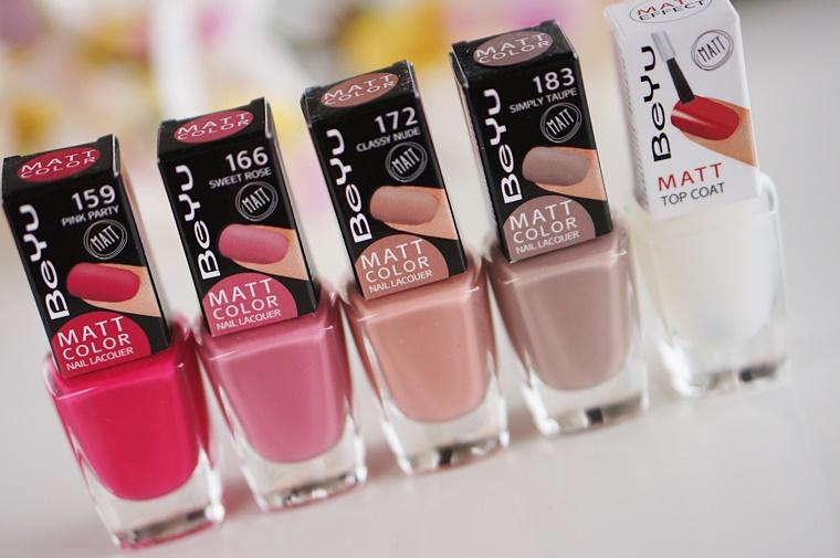 beyu matt color nail lacquer 2 - BeYu matt color nail lacquer