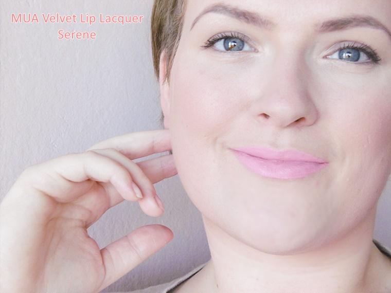 mua velvet lip lacquer review 4 - Budget beauty tip | MUA Velvet Lip Lacquer