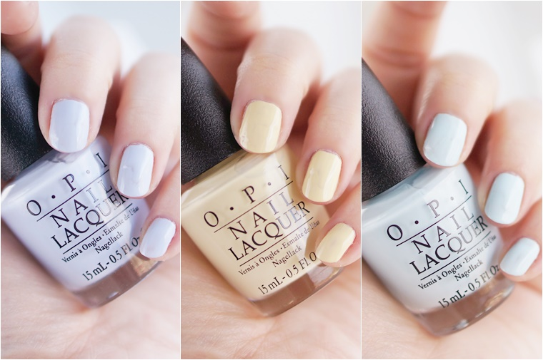 pastel nail art 3 - OPI Soft Shades Pastels & pastel nail art inspiratie