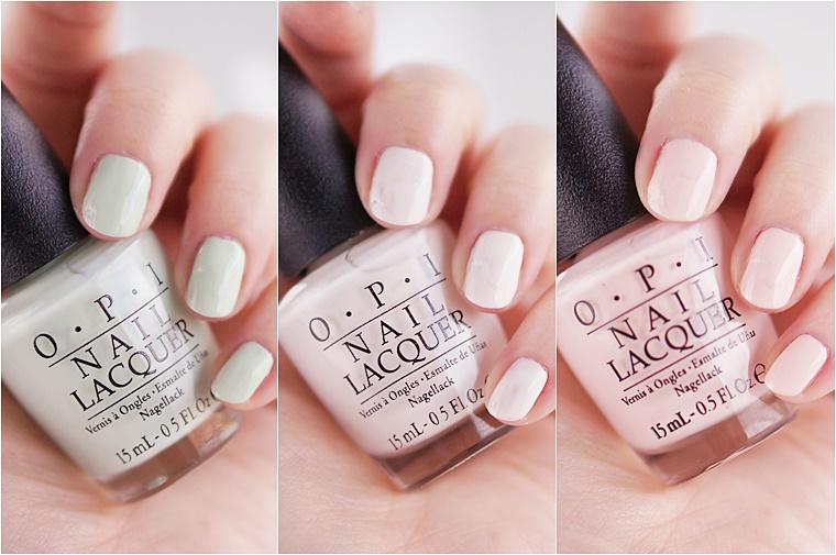 pastel nail art 4 - OPI Soft Shades Pastels & pastel nail art inspiratie