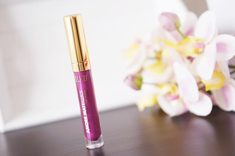 milani amore mattallics lip crème raving matte 1 - Milani Amore Mattallics lip crème – Raving Matte
