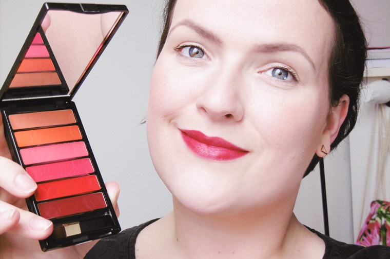 color riche la palette glam lips 8 - L'Oréal Color Riche La Palette Glam lips