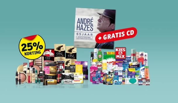 kruidvat hazes 1 - Kruidvat & exclusieve 65 jaar André Hazes CD