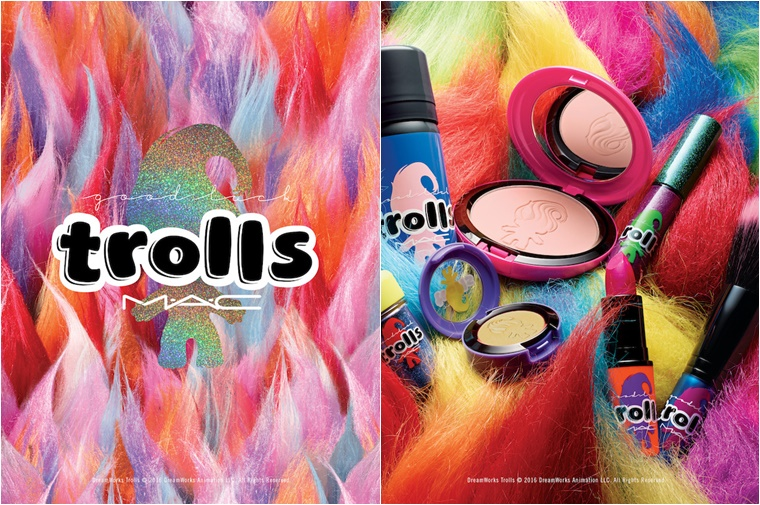mac good luck trolls 3 - Newsflash | MAC Good Luck Trolls collectie