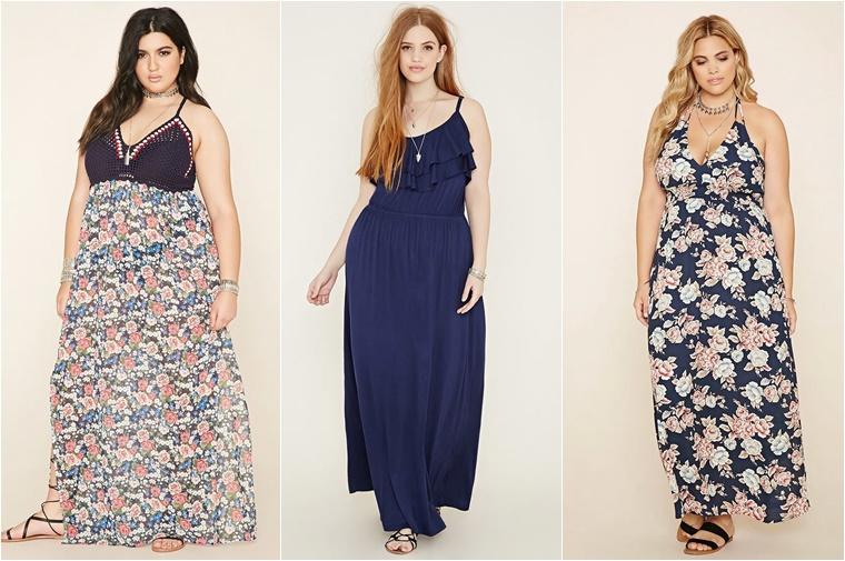 plussize maxidresses 1 - Plussize maxidresses shoppingtips!