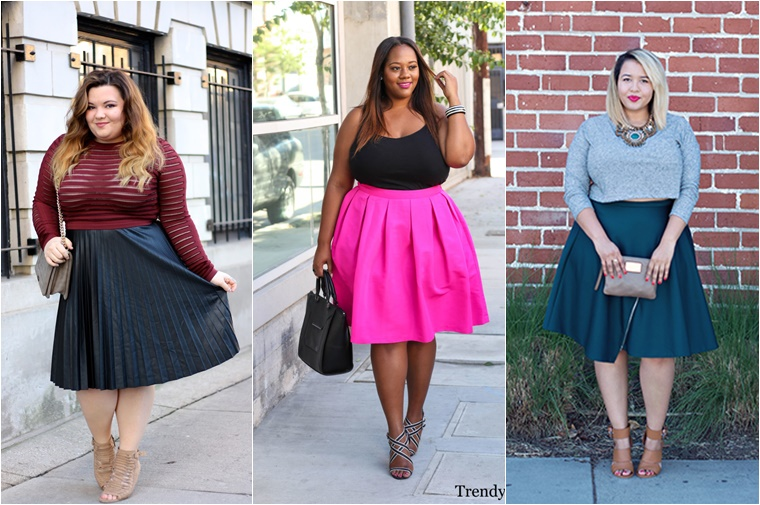 plussize midi skirts 6 - Plussize fashion | De midi skirt
