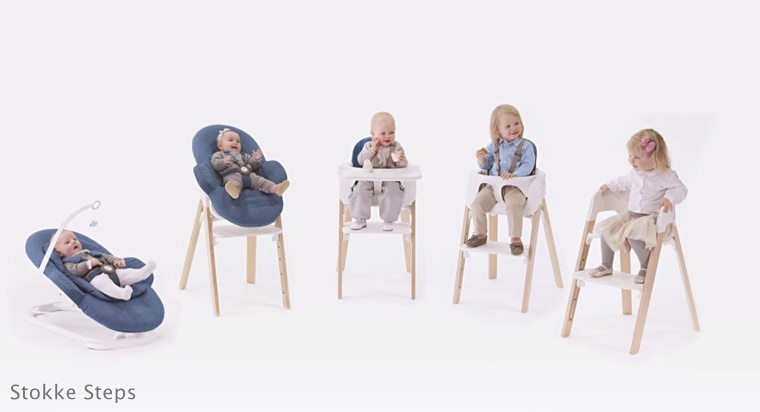 stokke steps 1 - Kids talk | Stokke Tripp Trapp vs Stokke Steps