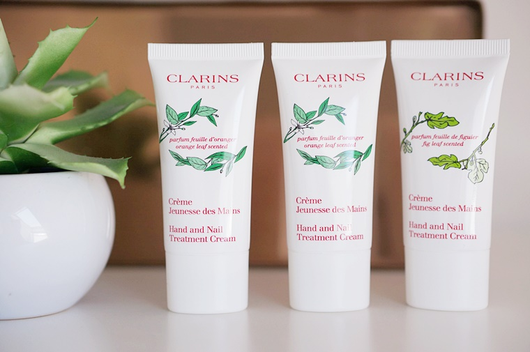 clarins hand nail treatment cream