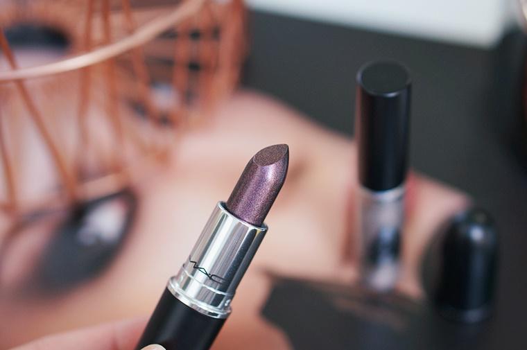 mac star trek 9 - MAC Star Trek | Kling-It-On lipstick & Set To Stun lipglass
