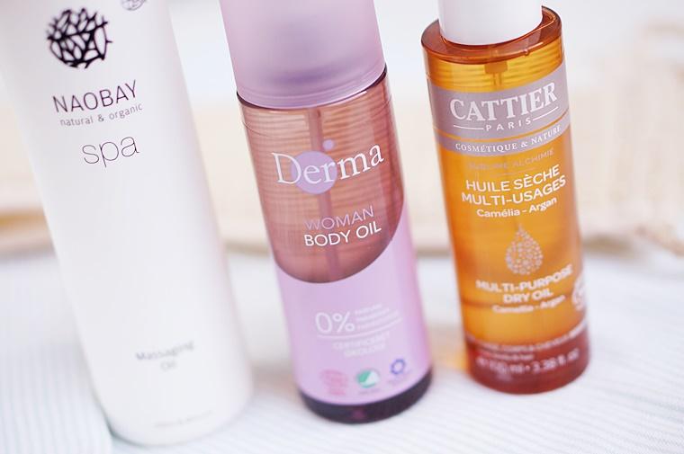 natuurlijke oliën lichaam 5 - Drie natuurlijke oliën voor een heerlijk zachte huid ♥
