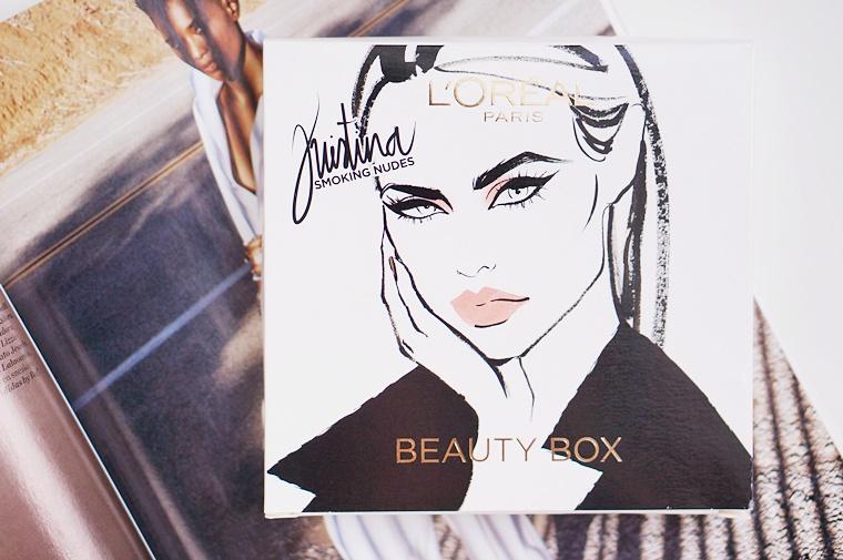 loreal paris kristina bazan beautybox 1 - L'Oréal Paris x Kristina Bazan Beautybox