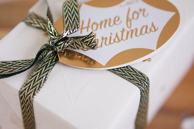 lush home for christmas