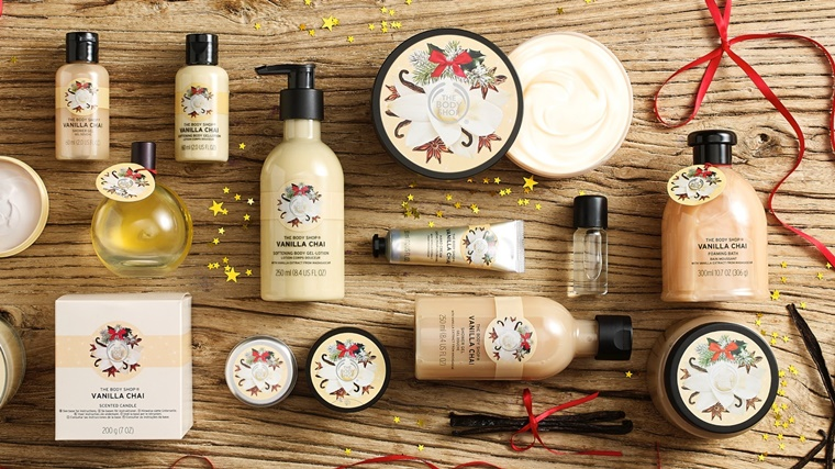the body shop kerstcollectie