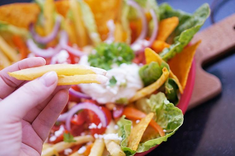 veggie snack plate