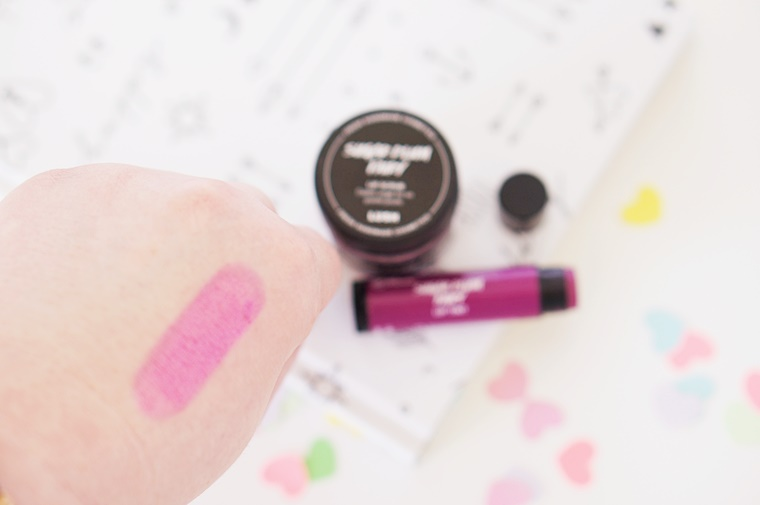 lush sugar plum fairy 6 - Lush Sugar Plum Fairy lip scrub & lip tint