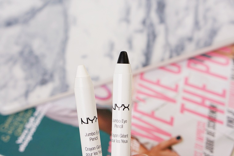 nyx jumbo eye pencil 2 - Make-up musthave | NYX Jumbo Eye Pencil Milk & Black Bean