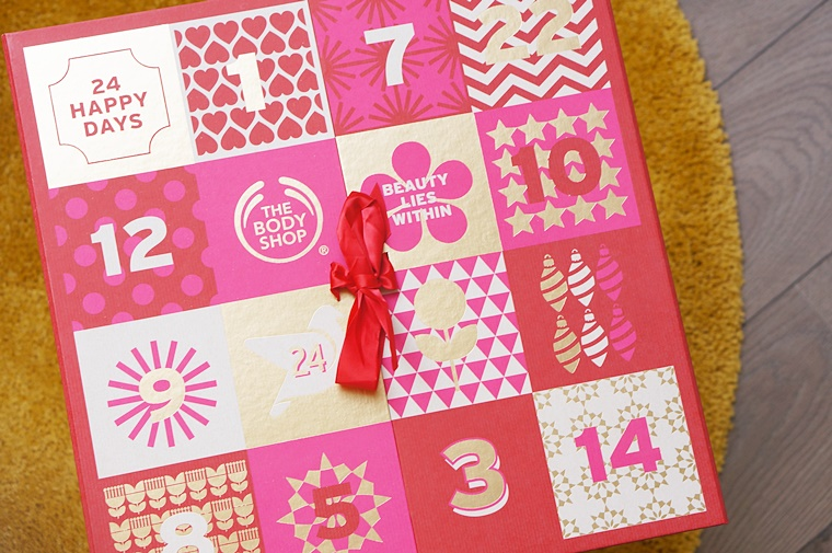 the body shop deluxe adventskalender 1 - The Body Shop Deluxe adventskalender
