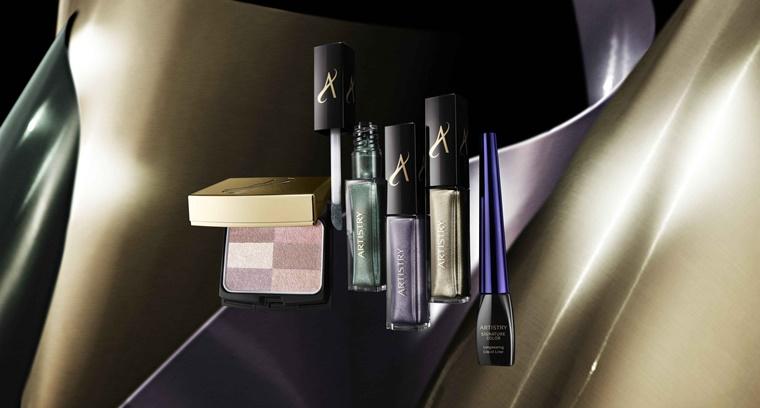 artistry luxe metallics eyeshadow 2 - Christmas Countdown | Artistry luxe metallics (feestelijke look)