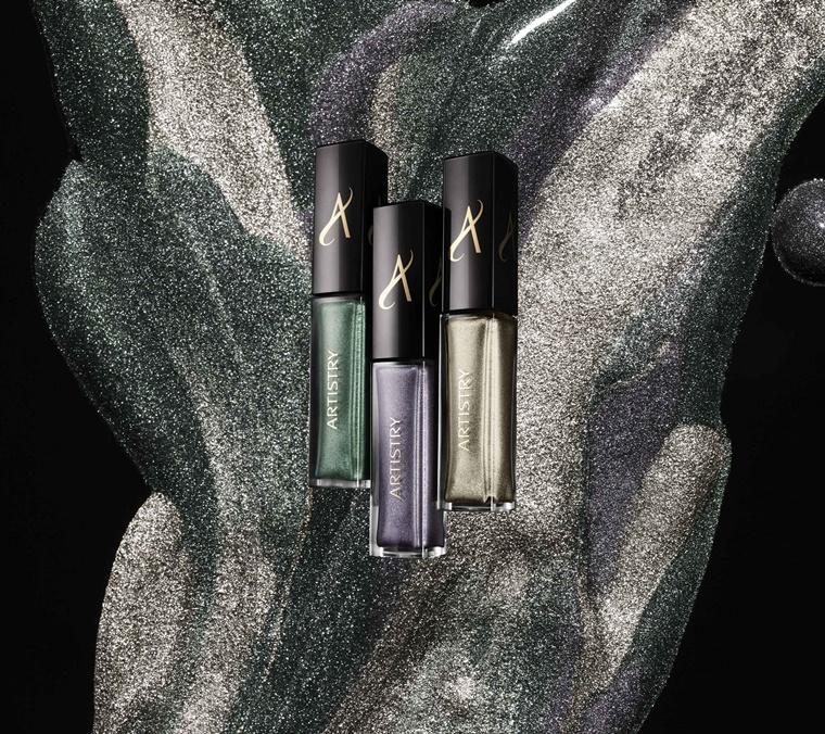 artistry luxe metallics eyeshadow 3 - Christmas Countdown | Artistry luxe metallics (feestelijke look)