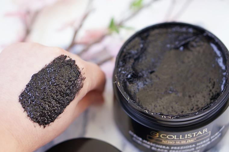collistar sublime black precious scrub mask