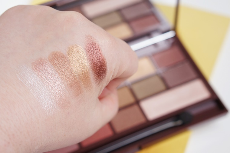 i heart makeup golden bar review 5 - I heart Makeup Golden Bar palette