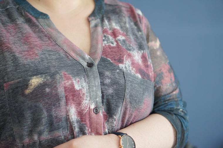 x two mesh blouse 3 - Plussize news | X-Two lanceert elke week een nieuwe collectie