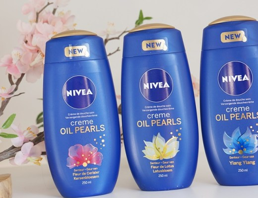 nivea oil pearls douchecrème
