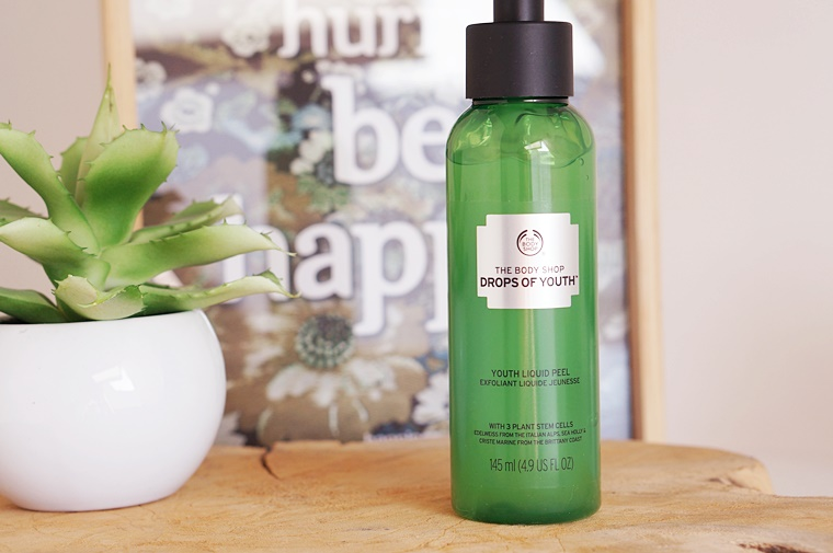 the body shop youth liquid peel