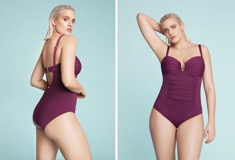 mango violeta swimwear