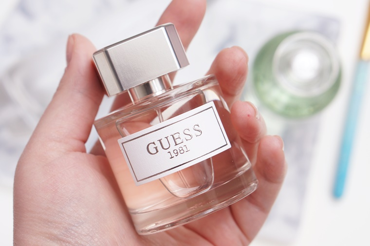 guess 1981 eau de toilette 2 - Parfumnieuws | So fresh and so clean!