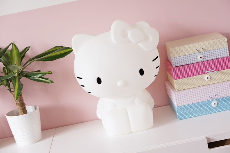Nachtlamp Kinderkamer Tips : Hello kitty lamp voor op de kinderkamer interieur tip