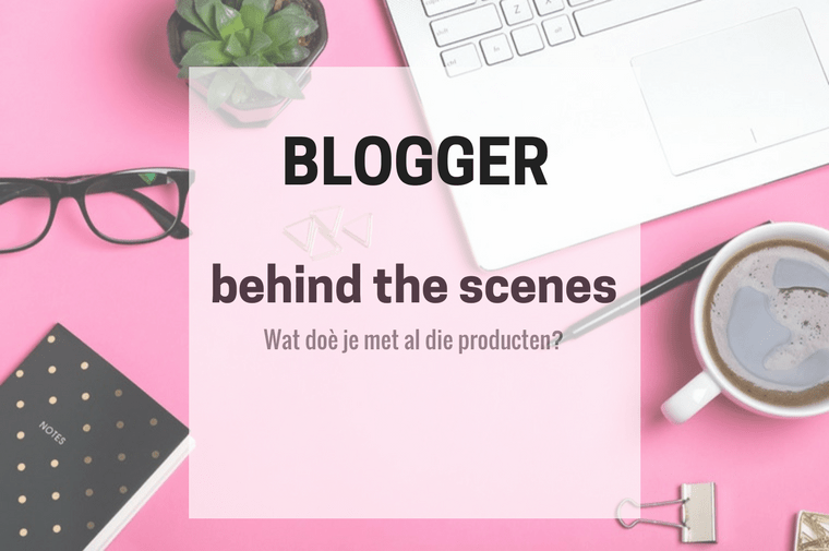 blogger behind the scenes