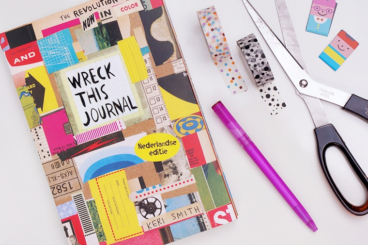 wreck this journal 1 - Wreck This Journal | Een doe boek voor volwassenen