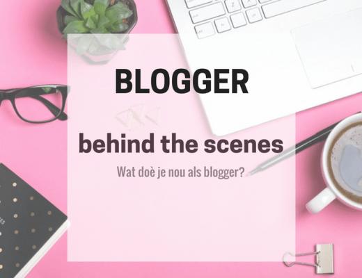 werkzaamheden van een blogger