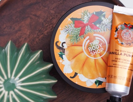 the body shop halloween vanilla pumpkin
