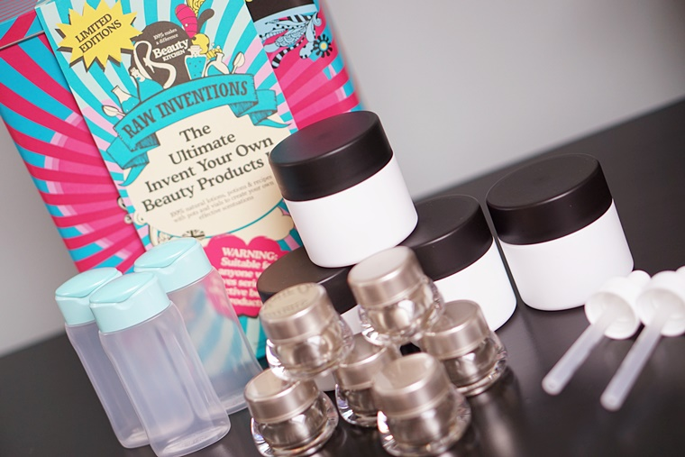 beauty kitchen raw inventions kit 4 - Beauty Kitchen   Raw Inventions giftset