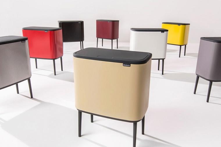 Brabantia Prullenbak Goedkoop.Brabantia Bo Touch Bin Duurzaam Design Voor In Je Keuken