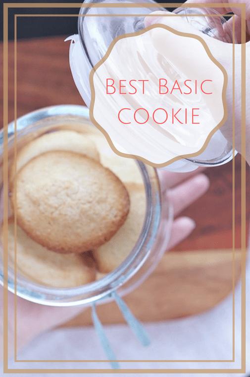 basis koekjes recept